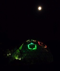 dome at tddt 2014 at night