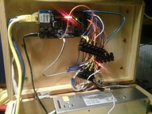 Arduino Mega mit Netzwerk-Shield